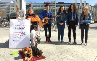 Singen für Obdachlose