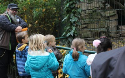 Im Tierpark mit Kindern