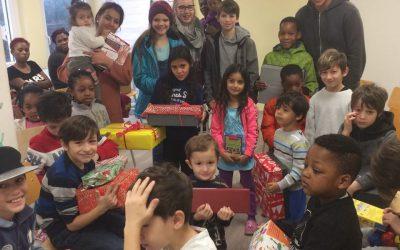 Freude für Flüchtlingskinder